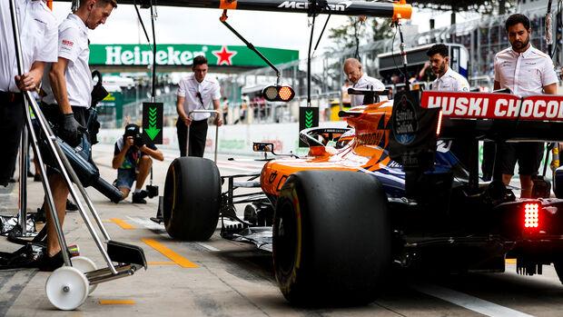 Carlos Sainz - McLaren - Formel 1 - GP Brasilien - Sao Paulo - 16. November 2019