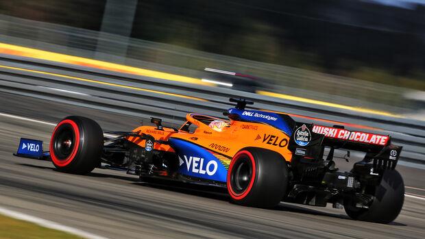Carlos Sainz - McLaren - Formel 1 - GP Eifel - Nürburgring - Samstag - 10.10.2020
