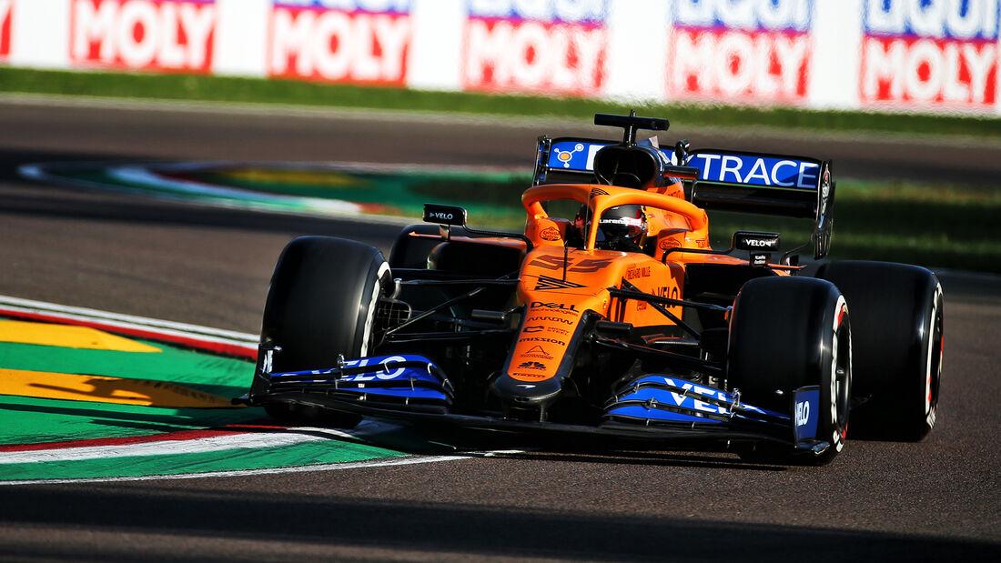 Carlos Sainz - McLaren - Formel 1 - GP Emilia-Romagna - Imola - Samstag - 31.10.2020