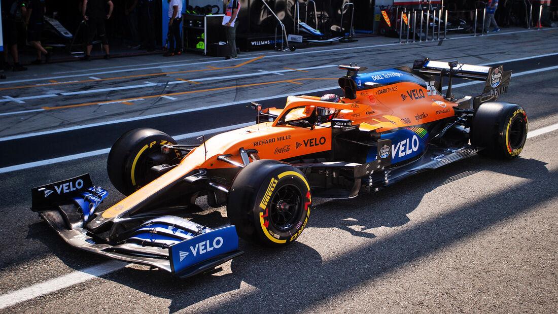 Carlos Sainz - McLaren - Formel 1 - GP Italien - Monza - 4. September 2020