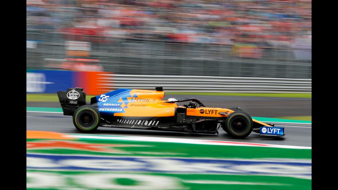 Carlos Sainz - McLaren - Formel 1 - GP Italien - Monza - 6. September 2019