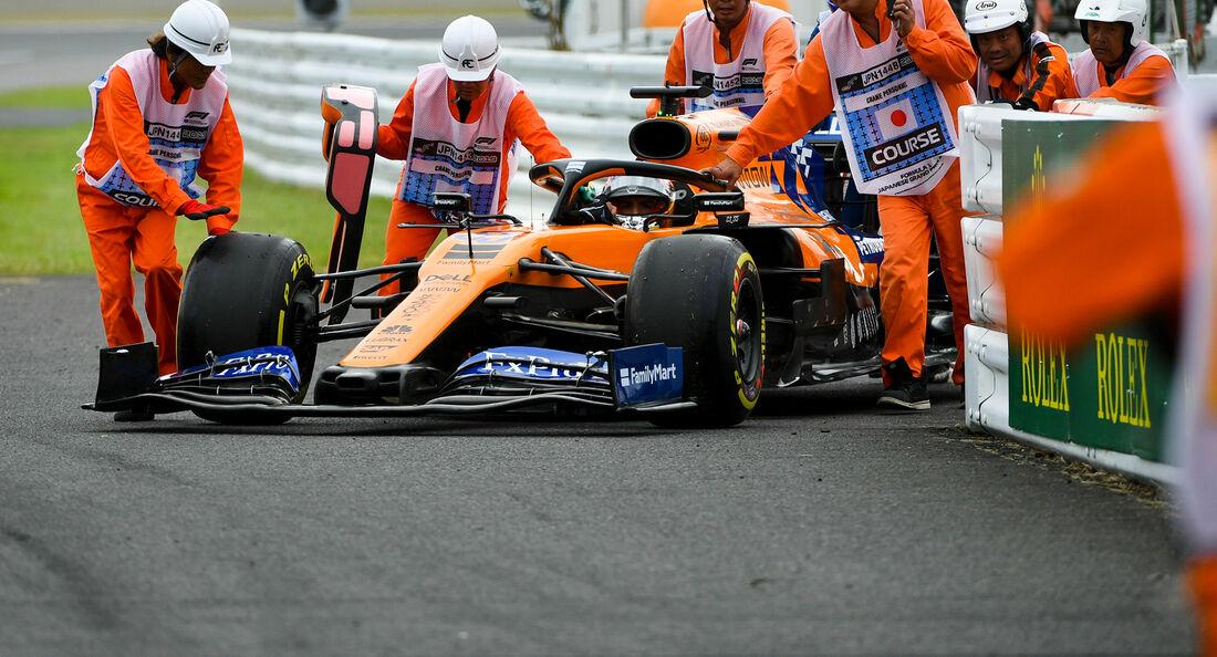 Carlos Sainz - McLaren - Formel 1 - GP Japan - Suzuka - 11. Oktober 2019