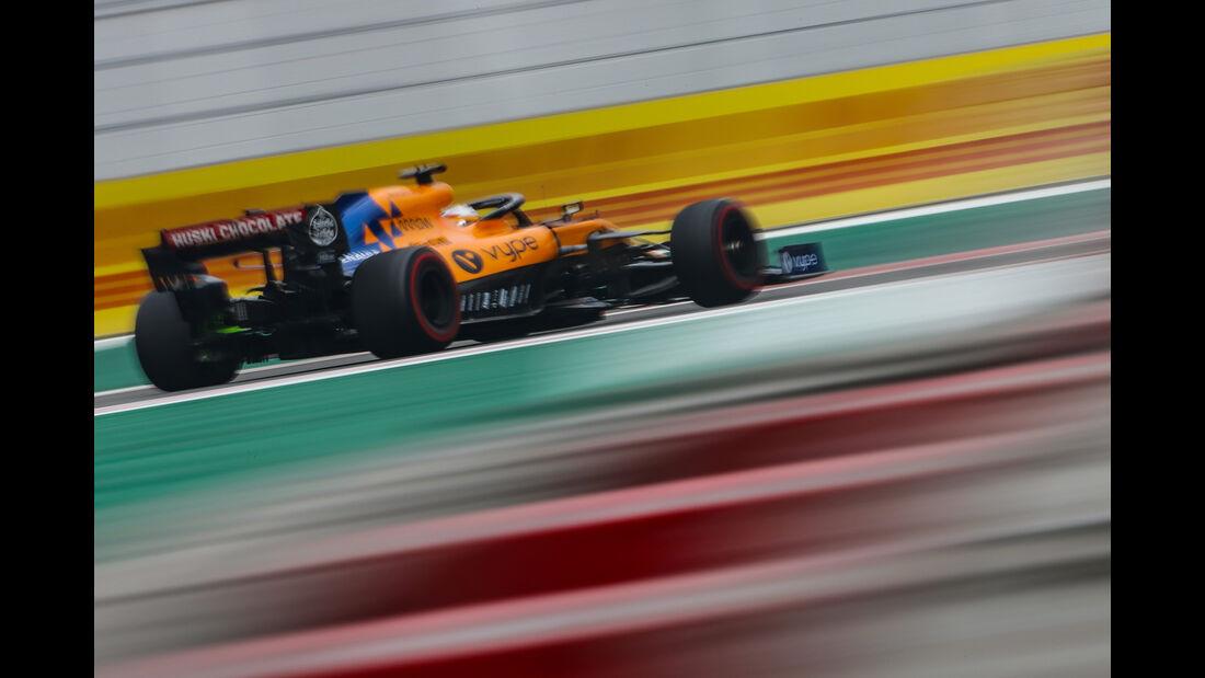 Carlos Sainz - McLaren - Formel 1 - GP Mexiko - 25. Oktober 2019