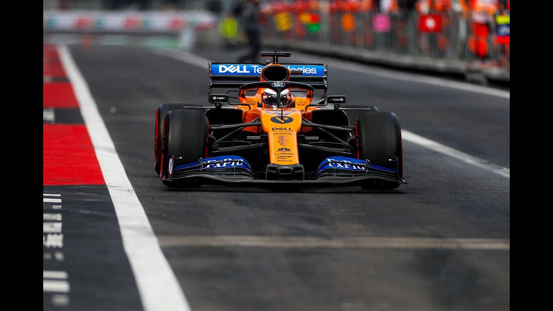 Carlos Sainz - McLaren - Formel 1 - GP Mexiko - 26. Oktober 2019