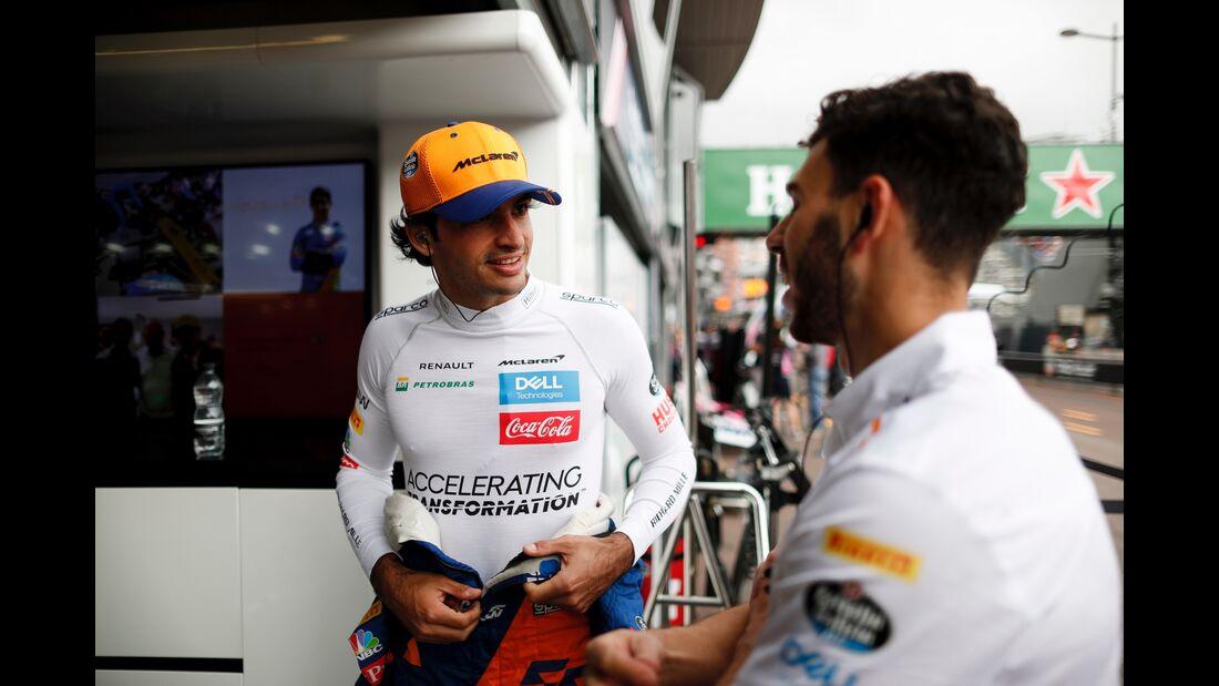 Carlos Sainz - McLaren - Formel 1 - GP Monaco - 23. Mai 2019