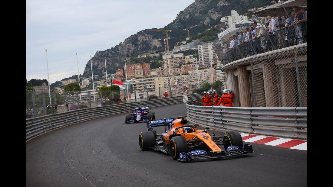 Carlos Sainz - McLaren - Formel 1 - GP Monaco - 26. Mai 2019