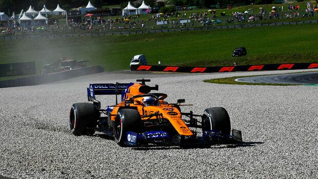 Carlos Sainz - McLaren - Formel 1 - GP Östereich - Spielberg - 28. Juni 2019