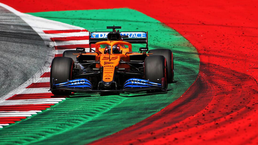 Carlos Sainz - McLaren - Formel 1 - GP Österreich - 4. Juli 2020