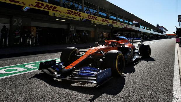Carlos Sainz - McLaren - Formel 1 - GP Portugal - Portimao - 24. Oktober 2020