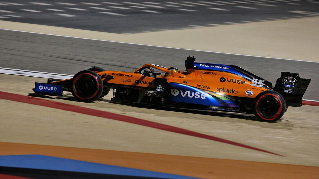Carlos Sainz - McLaren - Formel 1 - GP Sakhir - Bahrain - Freitag - 4.12.2020