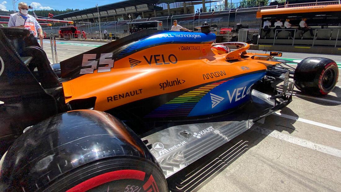 Carlos Sainz - McLaren - Formel 1 - GP Steiermark - Österreich - Spielberg - 10. Juli 2020