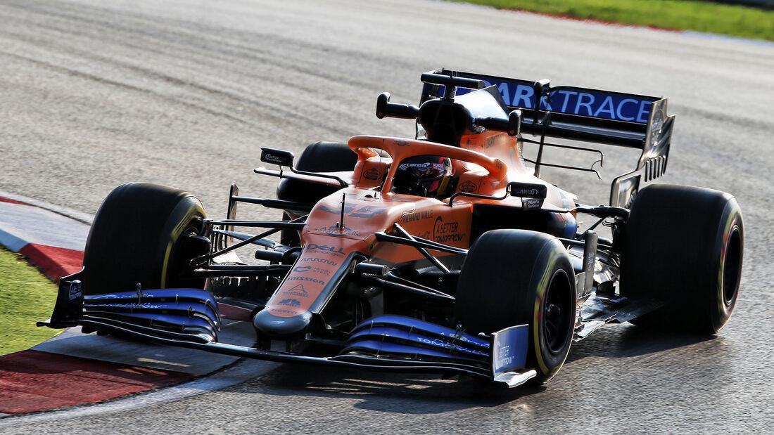 Carlos Sainz - McLaren - Formel 1 - GP Türkei - Istanbul - Freitag - 13.11.2020