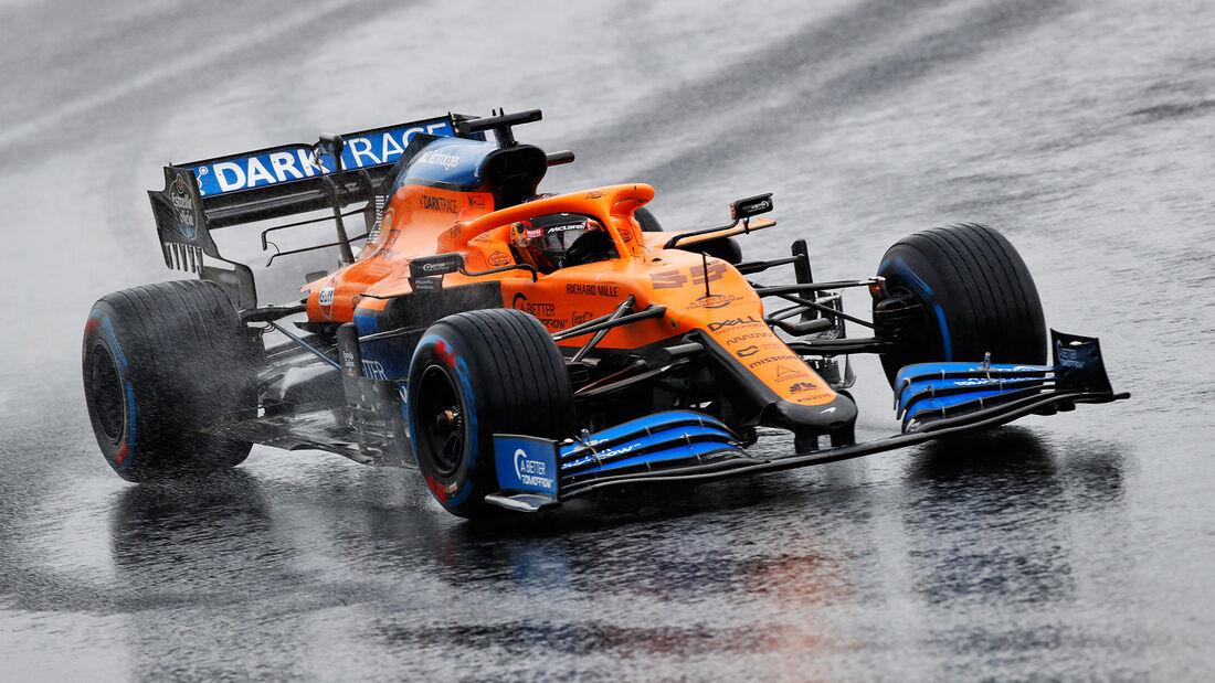 Carlos Sainz - McLaren - Formel 1 - GP Türkei - Istanbul - Samstag - 14.11.2020