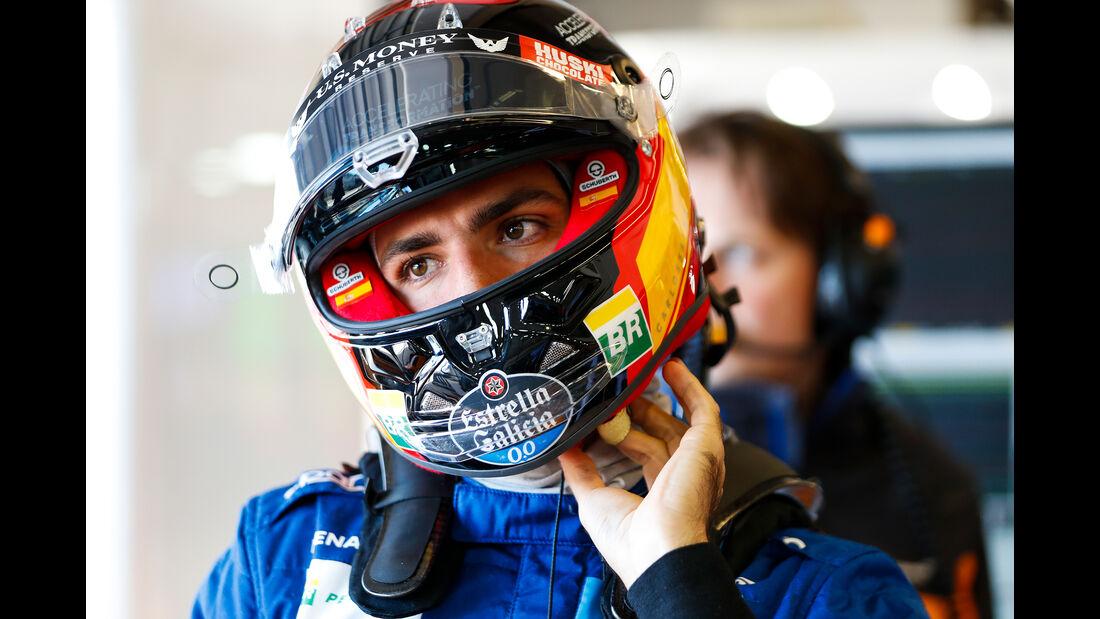 Carlos Sainz - McLaren - Formel 1 - GP USA - Austin - 1. November 2019