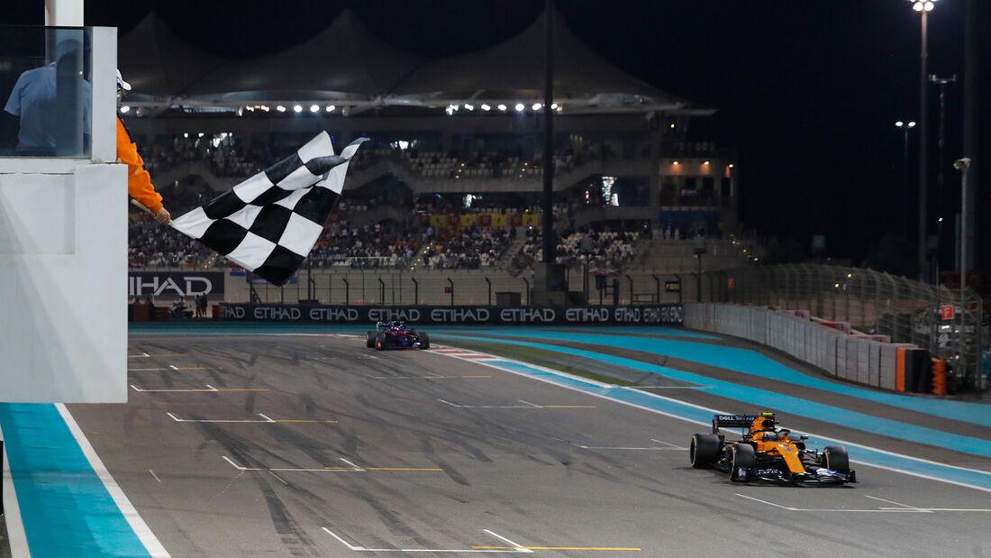 La Fórmula 1 volverá a usar la bandera a cuadros para señalar el final de las carreras en 2020