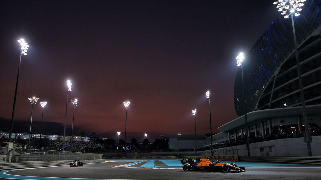Carlos Sainz - McLaren - GP Abu Dhabi 2019 - Rennen