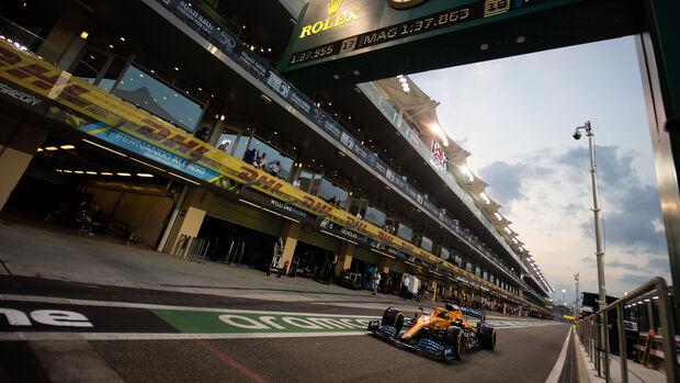 Carlos Sainz - McLaren - GP Abu Dhabi 2020 - Qualifikation