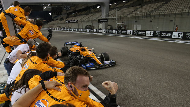 Carlos Sainz - McLaren - GP Abu Dhabi 2020 - Rennen