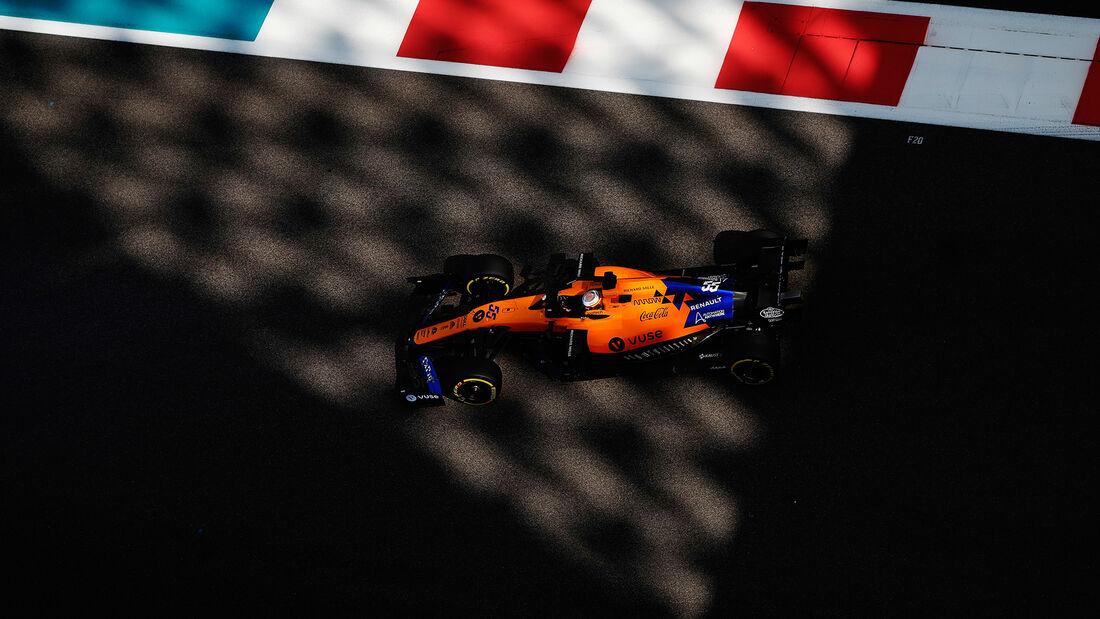 Carlos Sainz - McLaren - GP Abu Dhabi - Formel 1 - Freitag - 29.11.2019