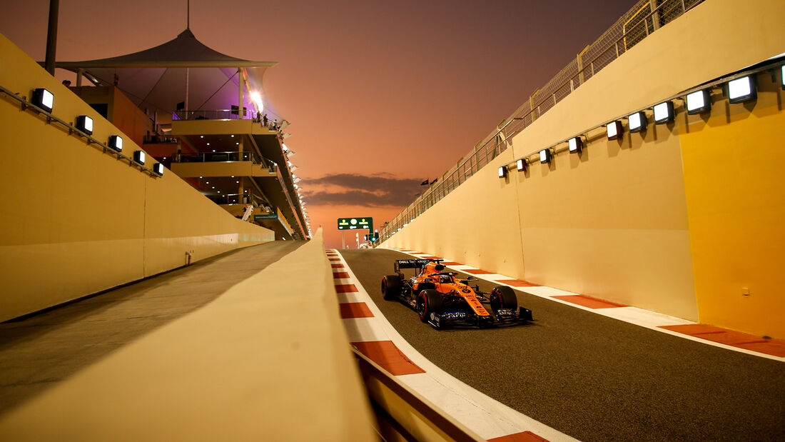 Carlos Sainz - McLaren - GP Abu Dhabi - Formel 1 - Samtag - 30.11.2019