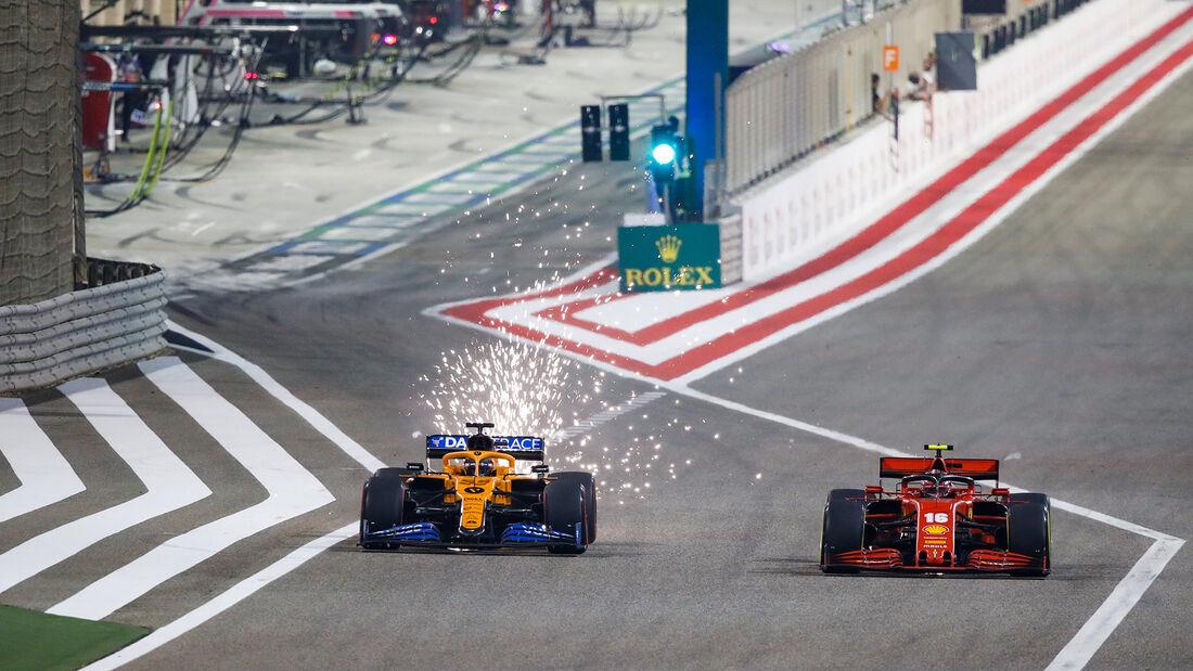 Carlos Sainz - McLaren - GP Bahrain 2020 - Sakhir - Rennen
