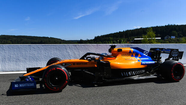 Carlos Sainz - McLaren - GP Belgien - Spa-Francorchamps - Formel 1 - Freitag - 30.8.2019