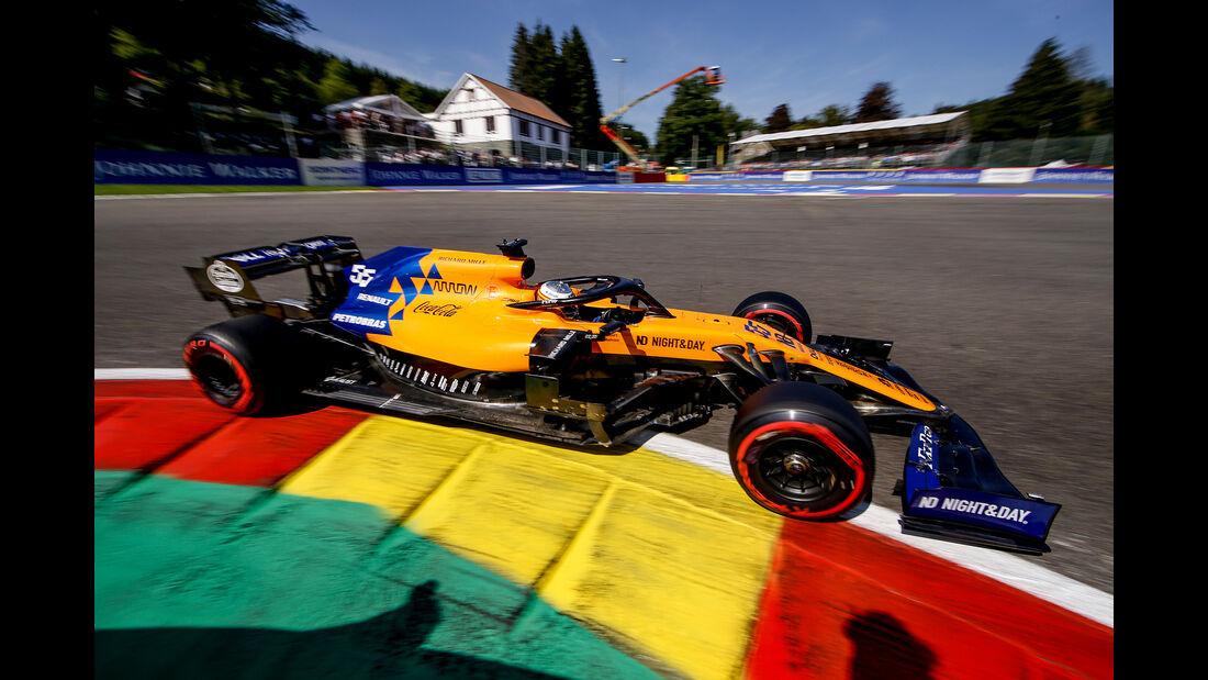 Carlos Sainz - McLaren - GP Belgien - Spa-Francorchamps - Formel 1 - Samstag - 31.8.2019
