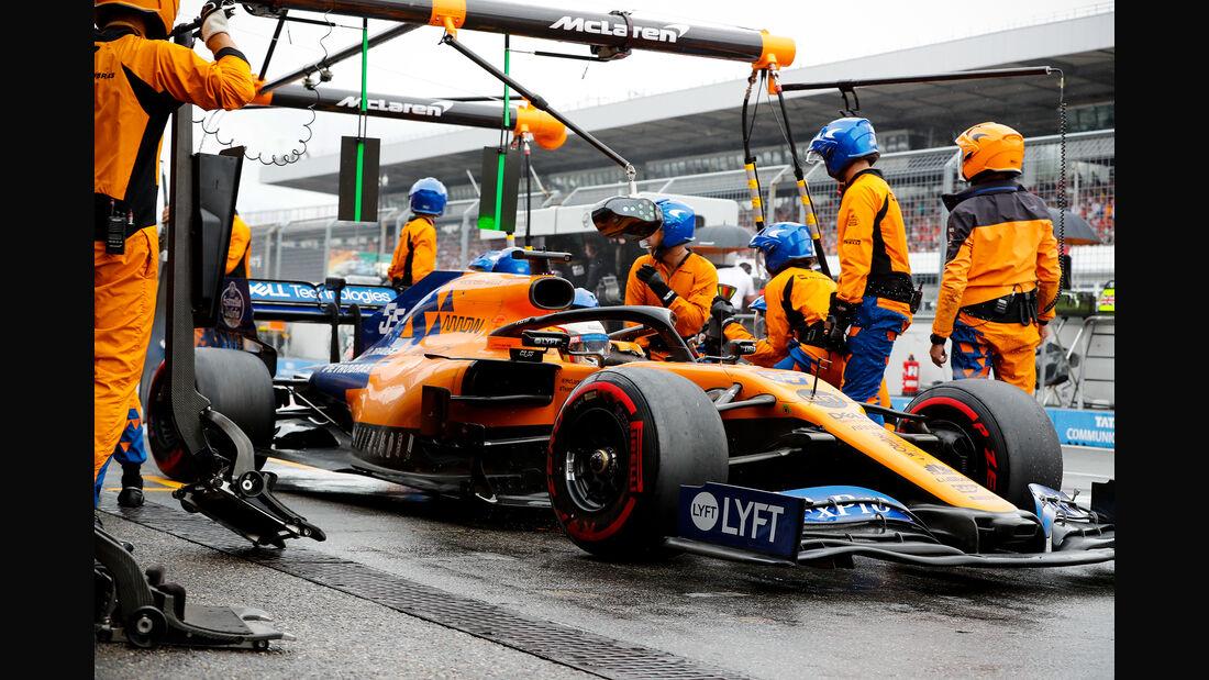 Carlos Sainz - McLaren - GP Deutschland 2019 - Hockenheim - Rennen