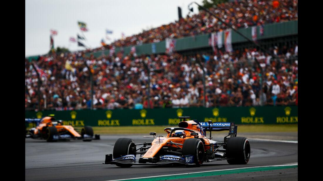 Carlos Sainz - McLaren - GP England 2019 - Silverstone - Rennen