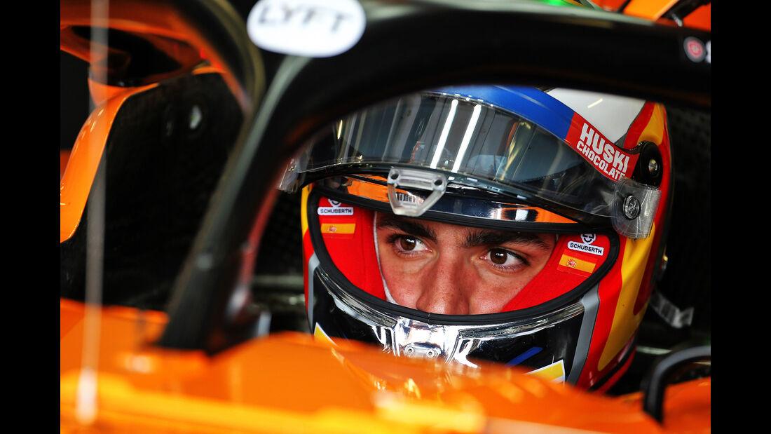 Carlos Sainz - McLaren - GP England - Silverstone - Freitag - 12.7.2019