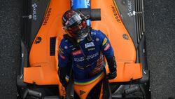 Carlos Sainz - McLaren - GP Italien 2020 - Monza - Rennen