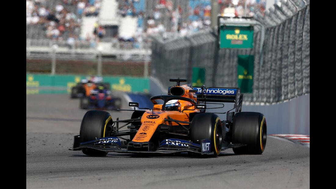 Carlos Sainz - McLaren - GP Russland 2019 - Sochi Autodrom - Rennen