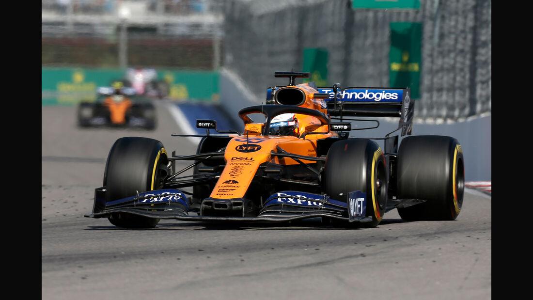 Carlos Sainz - McLaren - GP Russland 2019 - Sotschi