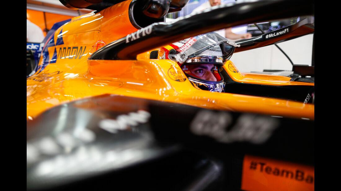 Carlos Sainz - McLaren - GP Russland - Sotschi - Formel 1 - Freitag - 27.9.2019