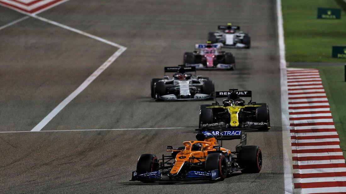 Carlos Sainz - McLaren - GP Sakhir 2020 - Bahrain - Rennen
