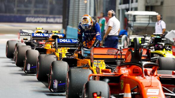 Carlos Sainz - McLaren - GP Singapur 2019 - Qualifying