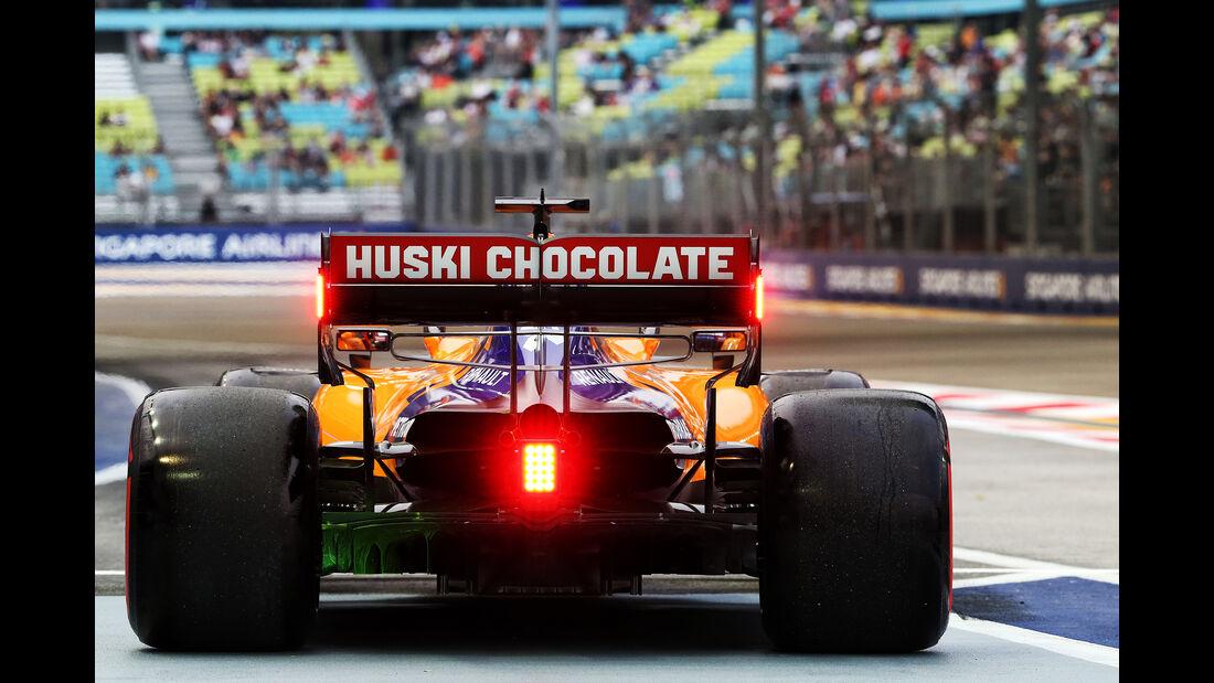 Carlos Sainz - McLaren - GP Singapur - Formel 1 - Freitag - 20.9.2019