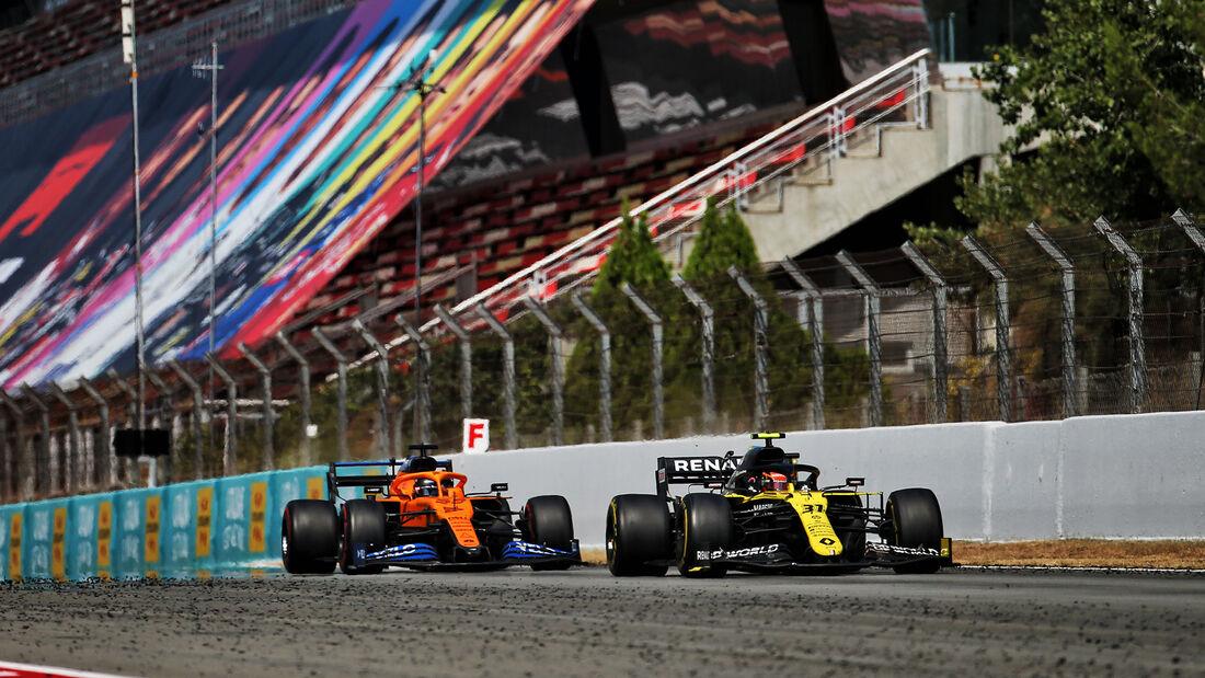 Carlos Sainz - McLaren - GP Spanien 2020 - Barcelona