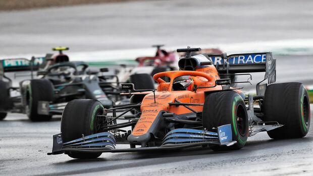 Carlos Sainz - McLaren - GP Türkei 2020 - Istanbul - Rennen