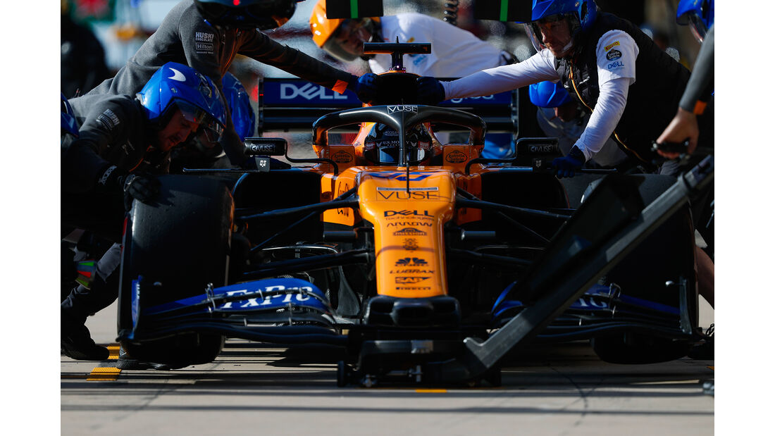 Carlos Sainz - McLaren - GP USA 2019 - Austin