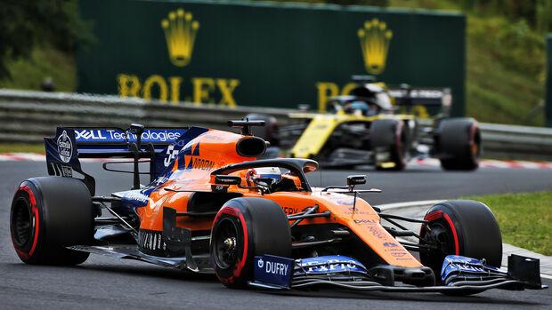 Carlos Sainz - McLaren - GP Ungarn 2019 - Budapest - Qualifying
