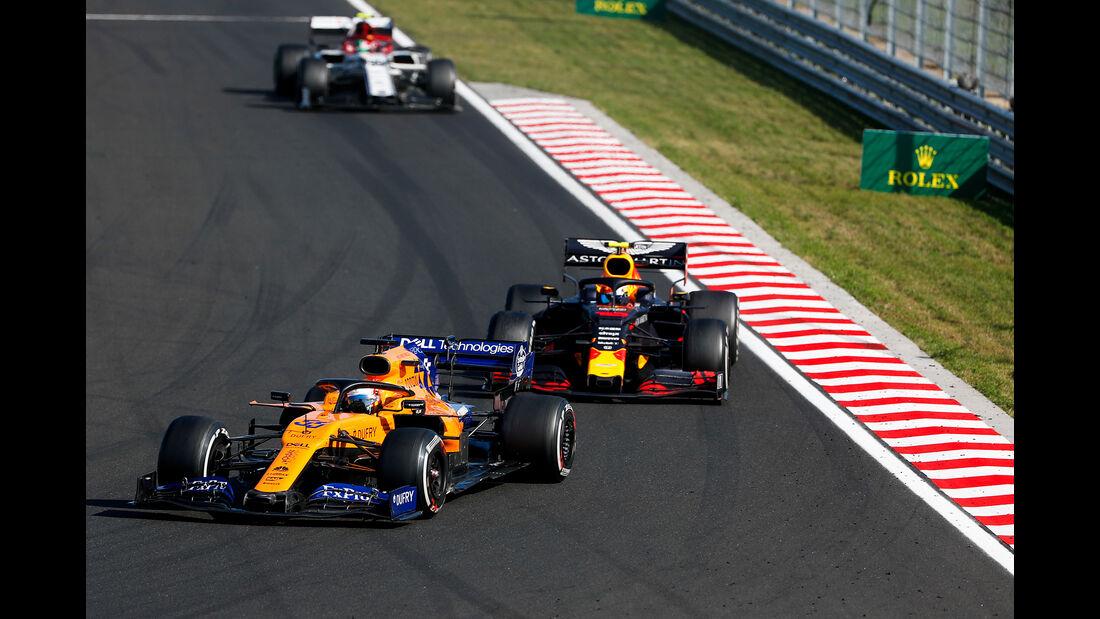 Carlos Sainz - McLaren - GP Ungarn 2019 - Budapest - Rennen