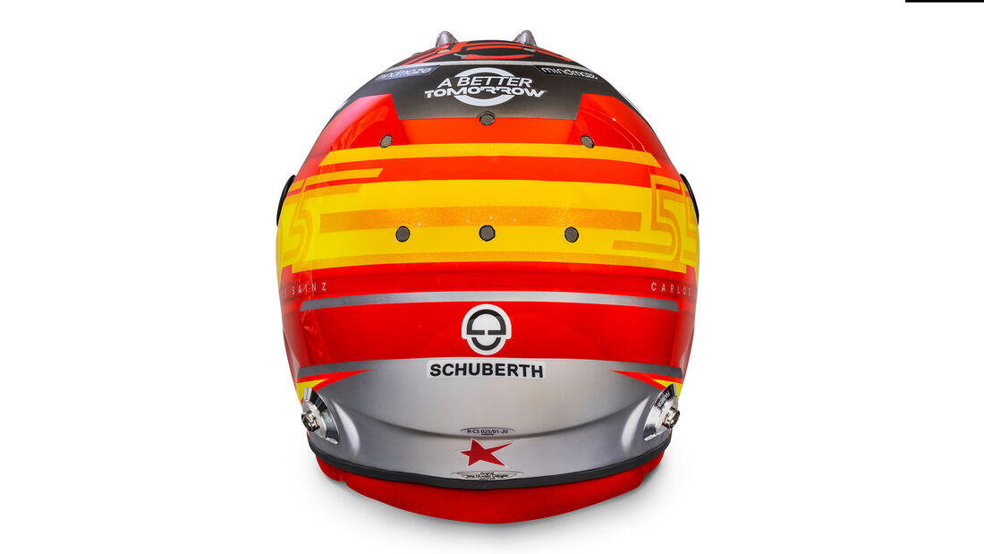 Carlos Sainz - McLaren - Helm - 2020