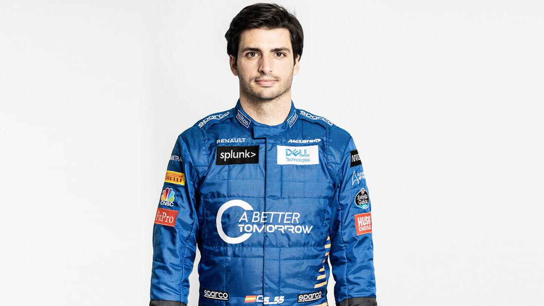 Carlos Sainz - McLaren - Porträt - 2020