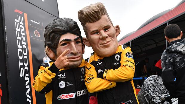 Carlos Sainz & Nico Hülkenberg - Renault - Formel 1 - GP Spanien - Barcelona - 12. Mai 2018