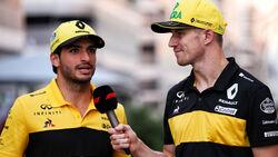 Carlos Sainz - Nico Hülkenberg - Renault - GP Russland 2018 - Sotschi - Qualifying