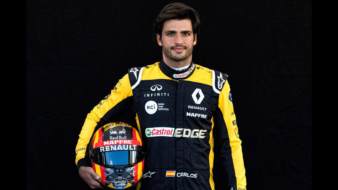 Carlos Sainz - Porträt - Formel 1 - 2018