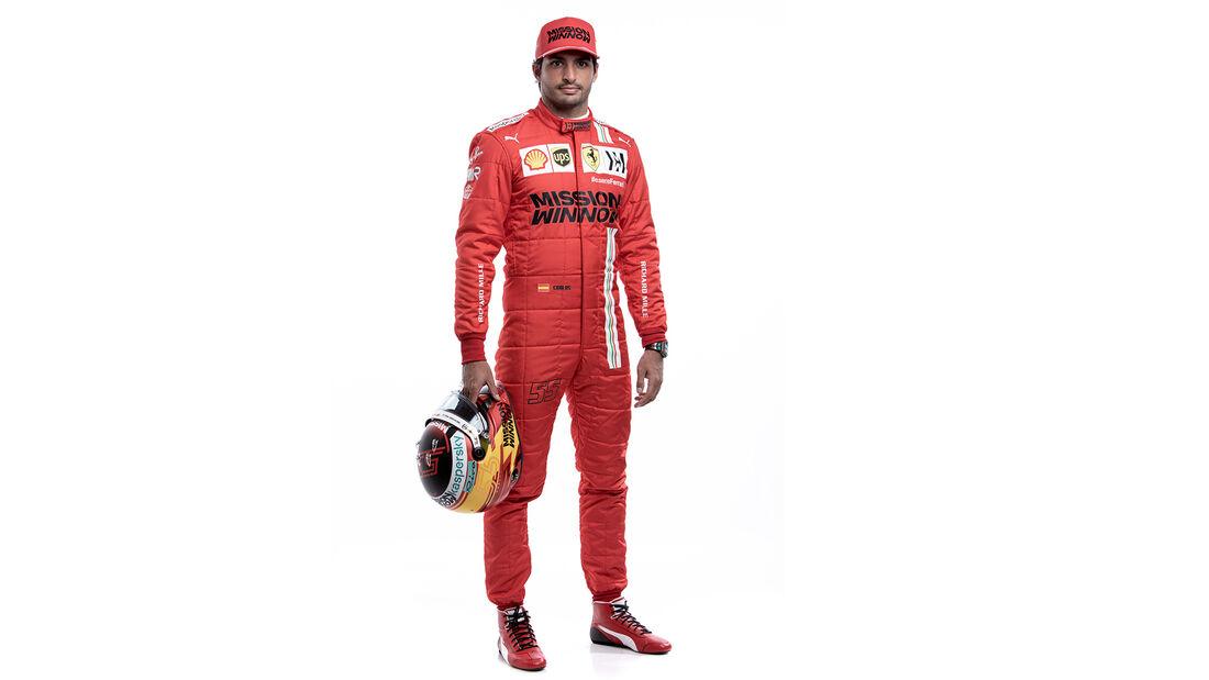 Carlos Sainz - Porträt - Formel 1 - 2021