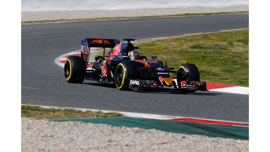 Carlos Sainz - Red Bull - Formel 1-Test - Barcelona - 4. März 2016