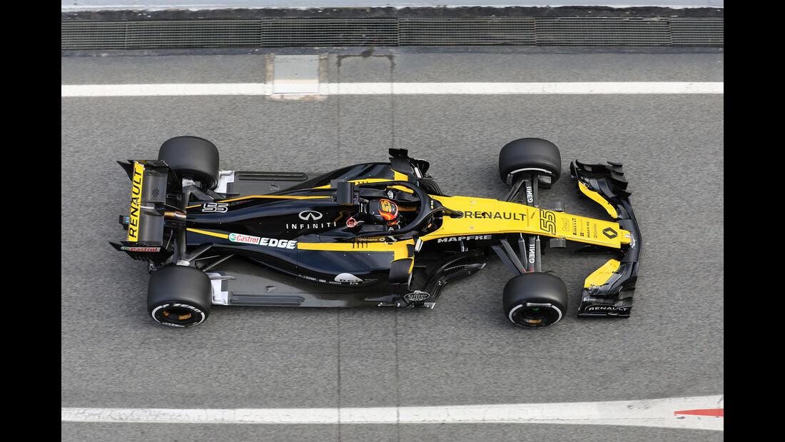 Carlos Sainz - Renault - F1-Test - Barcelona - Tag 7 - 8. März 2018
